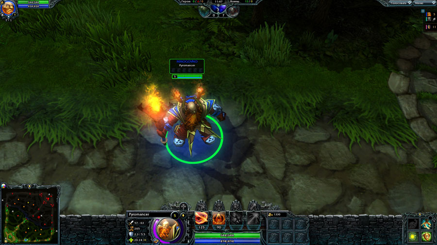 Title: heroes of newerth russian lan v613 year: 2011 genre: rpg - strategy developer: s2 games localizer