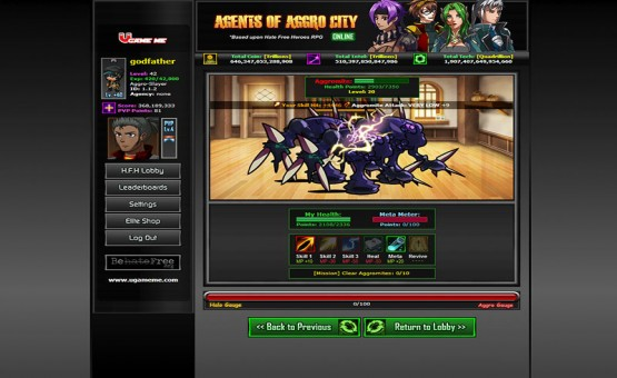 Agents of Aggro City Online