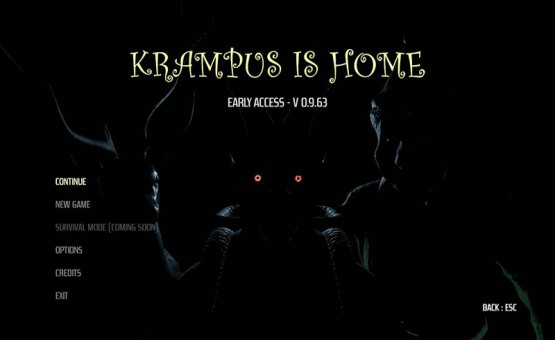 Krampus is Home